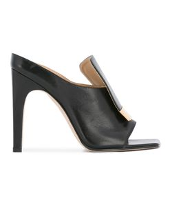 Sergio Rossi | Open Toe Sandals 38.5 Leather