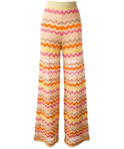 Missoni | M Zig-Zag Pattern Trousers 44 Cotton/Polyamide Fibre/Polyester