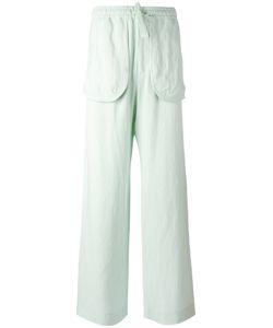 Qasimi   External Pockets Straight Trousers Size 30