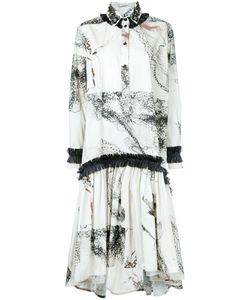 Antonio Marras | Платье-Рубашка С Абстрактным Принтом