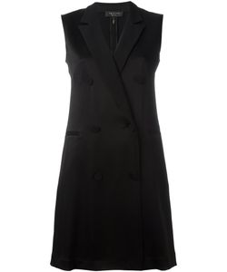Rag & Bone | Double-Breasted Shift Dress 4 Polyester/Triacetate