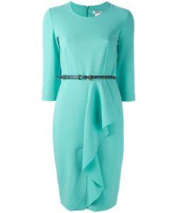 Max Mara | Fitted Ruffle Dress Size 38