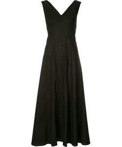 Derek Lam | V-Neck Flared Midi Dress