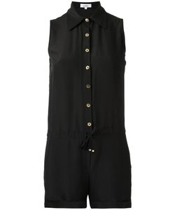 AMIR SLAMA | Sleeveless Playsuit Medium Cotton