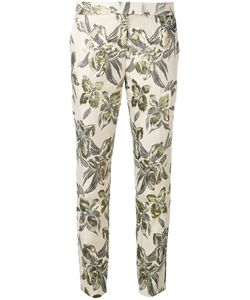 Christian Pellizzari | Printed Cigarette Trousers Size 42