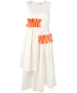 PASKAL | Расклешенное Платье С Оборками