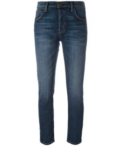 Current/Elliott | Skinny Cropped Jeans Size 28