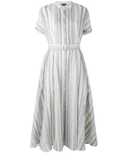 Theory | Semi-Sheer Belted Dress 8
