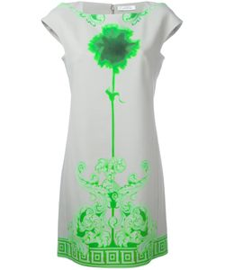 Versace Collection | Neon Print Shift Dress Size 40