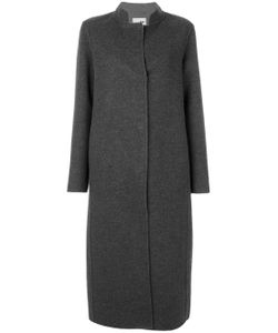 Manzoni 24 | Contrast Lapel Long Coat