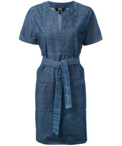 A.P.C. | A.P.C. Tie Waist Tunic Dress