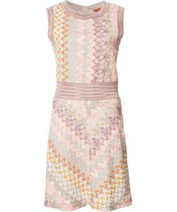 Missoni | Knitted Mini-Dress 38 Viscose/Cupro/Polyester