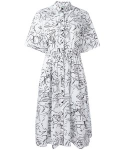 Kenzo | Sketches Shirt Dress Size 40