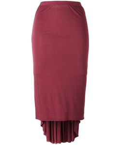Rick Owens Lilies | Elongated Back Midi Skirt Size 38