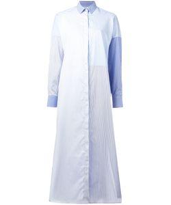 Each X Other | Striped Midi Shirt Dress Small