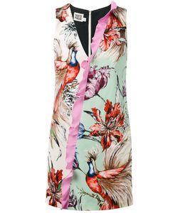 Fausto Puglisi   Contrast Dress 40 Viscose/Spandex/Elastane/Silk