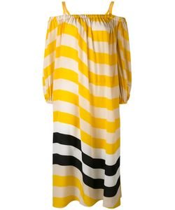 Fendi | Horizontal Stripe Dress 40