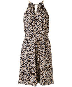 Michael Michael Kors | Leopard Halter Dress