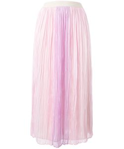Agnona | Tulle Midi Skirt Medium Silk/Cotton/Spandex/Elastane/Silk