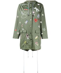 Mira Mikati | Embroide Hooded Parka 42 Cotton/Polyester