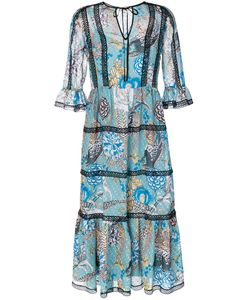 Temperley London   Прозрачное Платье С Рисунком