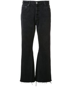 Re/Done | Fla Cropped Jeans 27 Cotton