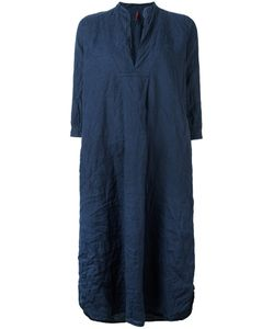 DANIELA GREGIS | V-Neck Tunic Dress 2 Linen/Flax