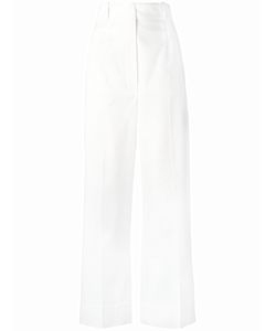 SportMax | Ubald High-Rise Trousers 38 Cotton/Spandex/Elastane