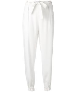 MSGM | Tape Trousers 40 Acetate/Viscose/Polyester