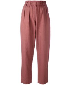 Forte Forte | Elasticated Waist Cropped Trousers Size