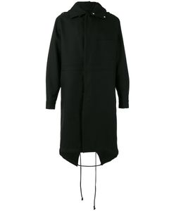 Raf Simons | Back Print Hooded Coat Size 44