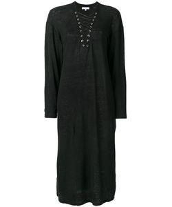 Iro | Платье С Воротником Со Шнуровкой