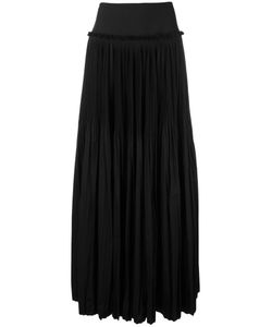 Alberta Ferretti | Pleated Maxi Skirt