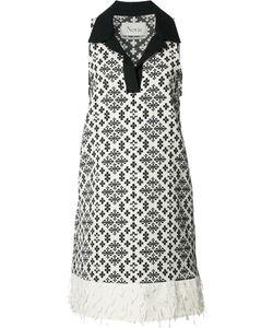 NOVIS | Sleeveless Patterned Dress 6 Cotton/Polyester/Other Fibers