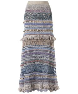 CECILIA PRADO   Long Knitted Skirt