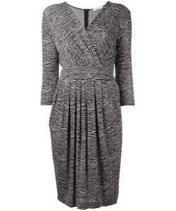 Max Mara | Zebra Print Dress 40 Viscose/Polyamide/Spandex/Elastane