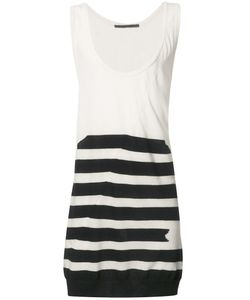 Haider Ackermann | Striped Long Top Small Cotton/Cashmere