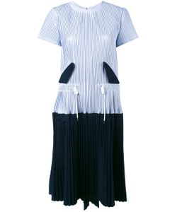 Sacai | Micro Pleated Two Part Dress