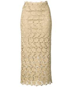 Robert Rodriguez | Mid-Length Lace Skirt
