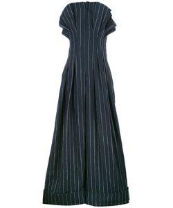 JACQUEMUS | Striped Jumpsuit 36 Linen/Flax