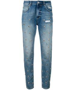 Zoe Karssen | Heart Stud Detail Jeans