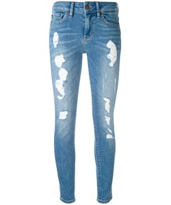 Tommy Hilfiger | Ripped Cropped Skinny Jeans