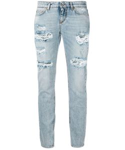 Dolce & Gabbana | Ripped Cropped Jeans Size 36