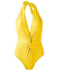 MARTHA MEDEIROS | Halterneck Swimsuit Size