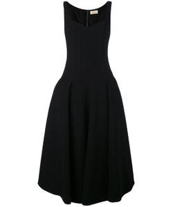 Sara Battaglia | Flared Midi Dress