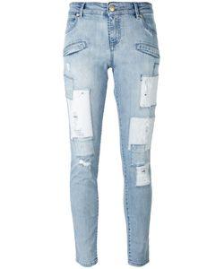 Pierre Balmain | Ripped Skinny Jeans 30 Cotton/Spandex/Elastane