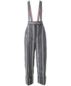 Thom Browne | Striped Trousers With Suspenders