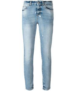 Alexander McQueen | Distressed Skinny Jeans 42 Cotton/Spandex/Elastane