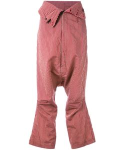 Rundholz | Striped Cropped Trousers Size Small