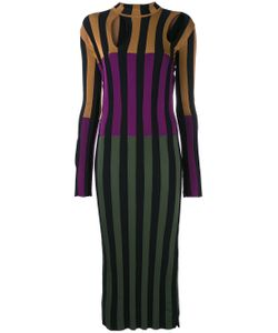 Nina Ricci | Colour Block Striped Dress